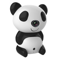 ANNKE H1280 x 720P Day/Night Wi-Fi Baby Moninitor Cute Panda Cloud IP Wireless 30ft Night Vision Video Monitoring Camera