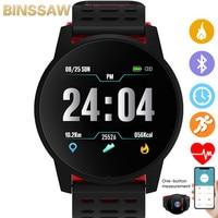Топ спортивные Смарт-часы для мужчин и женщин монитор сердечного ритма кровяное давление фитнес-трекер Смарт-часы спортивные часы GPS для ...