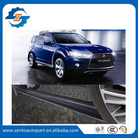 Hot sale Flexible aluminium alloy side step running board Electric pedal for Outlander