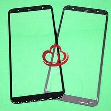 10 sztuk/partia wymiana LCD przedni ekran dotykowy szkło zewnętrzna obiektyw do Samsung Galaxy J4 + J4 Plus J415 J415F J415DS