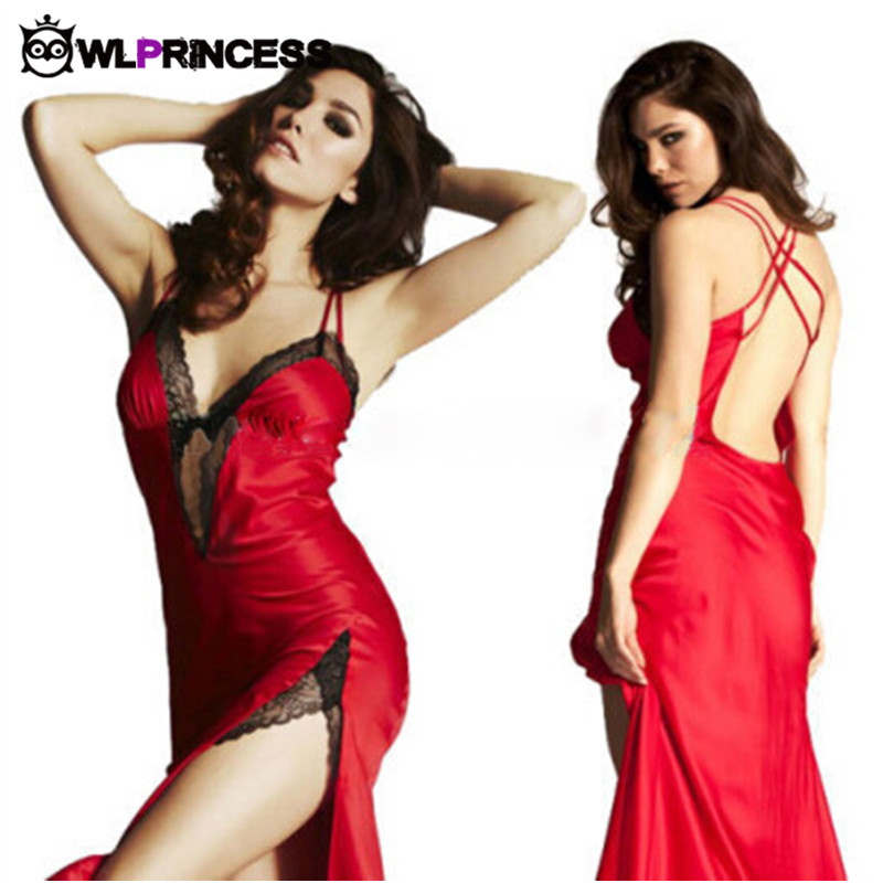 Owlprincess New red Babydolls sexy Lingerie Sets solid backlessTeddies bodystocking font b sex b font Exotic