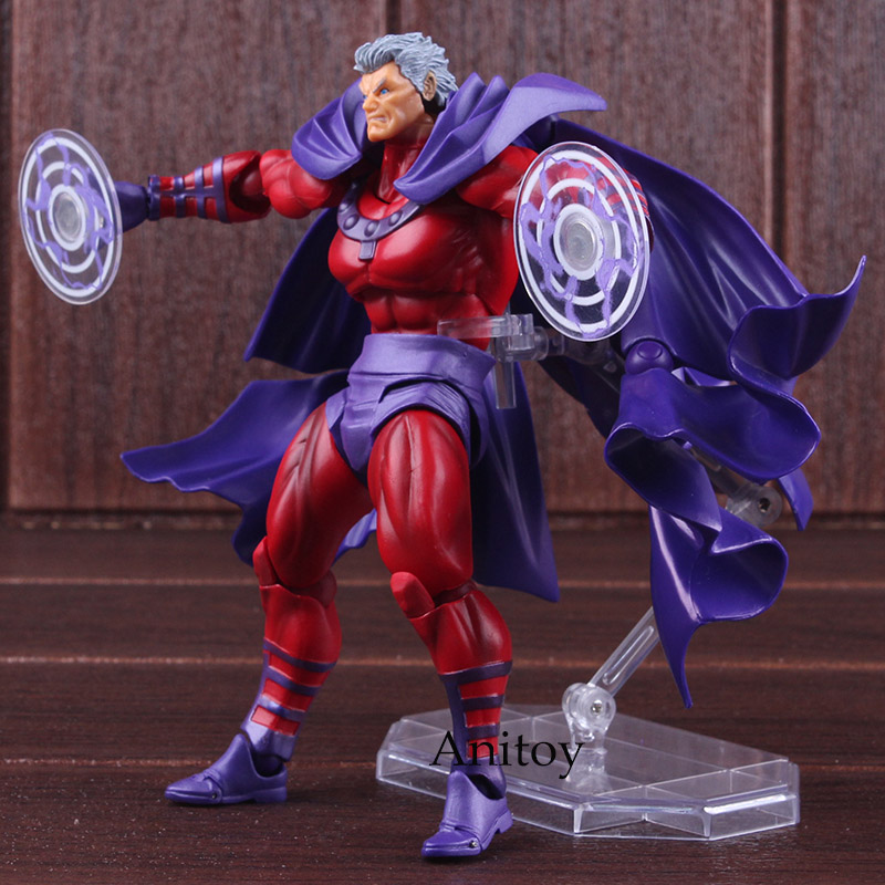 Image 3 - Marvel Comics X Men Avengers Magneto Figma Series NO.006 PVC XMen  Amazing Yamaguchi Figure Collectible Model ToyAction & Toy Figures   -