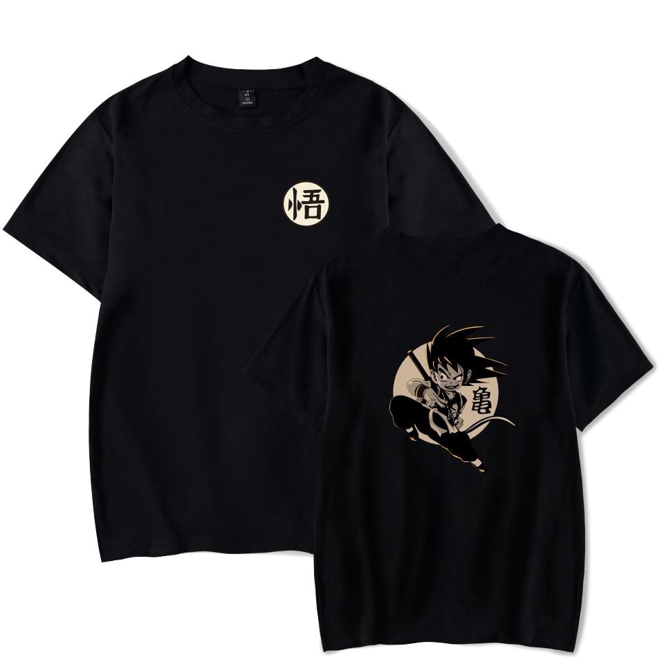 Dragon Ball T-shirts Summer Men/Women Cartoon Cool And Fashion Clothes Anime Dragon Ball Print Short Sleeves T-shirt