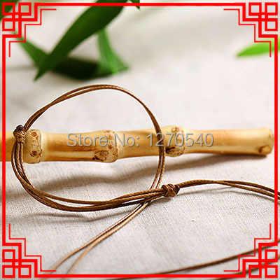 Китайский ветер фламбе глазированные керамические бусины ожерелье, красный сандал украшения Винтаж Подвески ожерелье окрашенным