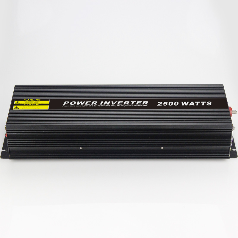 High efficiency 2500W Car Power Inverter Converter DC 12V to AC 110V or 220V Pure Sine Wave Peak 5000W Power Solar inverters high efficiency 1000w car power inverter converter dc 12v to ac 110v or 220v pure sine wave peak 2000w power solar inverters