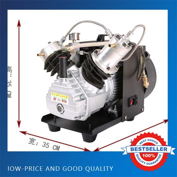 2.2KW Upgrade 30MPA Two Cylinder High Pressure Pump 220V Air Compressor