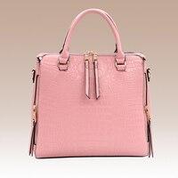 Hot 2018 New Women Handbag PU Leather Handbag Ladies Messenger Bag Crossbody Bags Top Handle Shoulder Women Bag Yellow HD6562 1