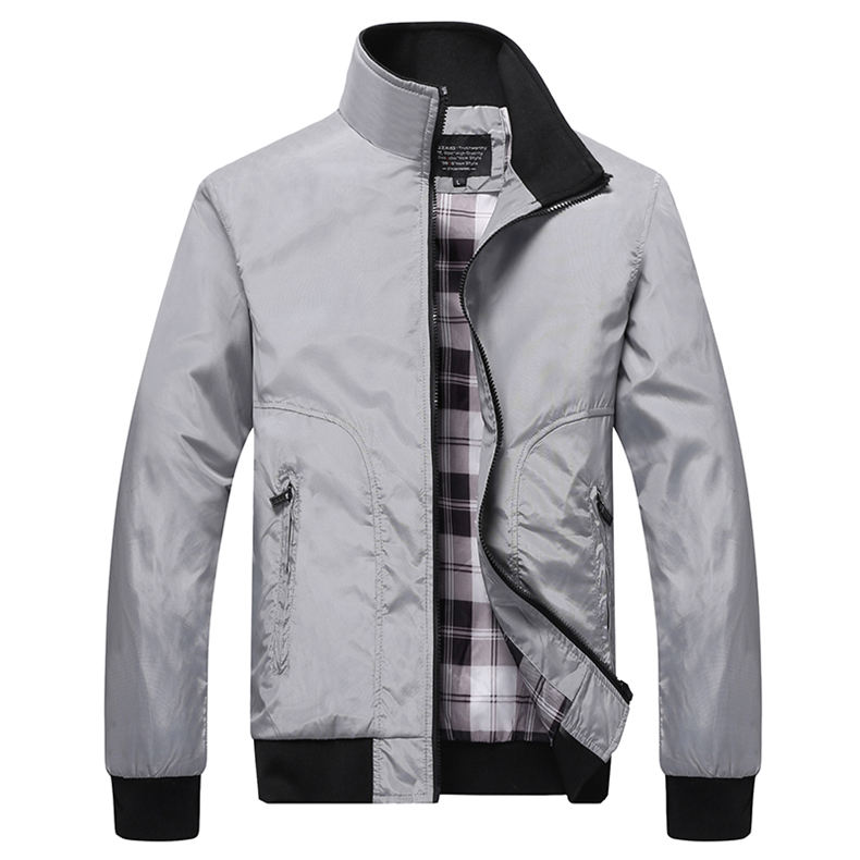 Spring Jackets Men 2019 Casual Jacket Male Coats Camo Bomber Mens Jacket Brand Business Outwear Turn-down Collar Zipper Pocket 03