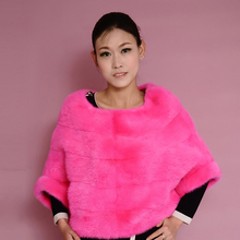 Mink Coats2016 And The New Female Korean Cultivating Mink Coat Sleeve Imported Fashion Fur Coat Mink Short Head Russian Winter C
