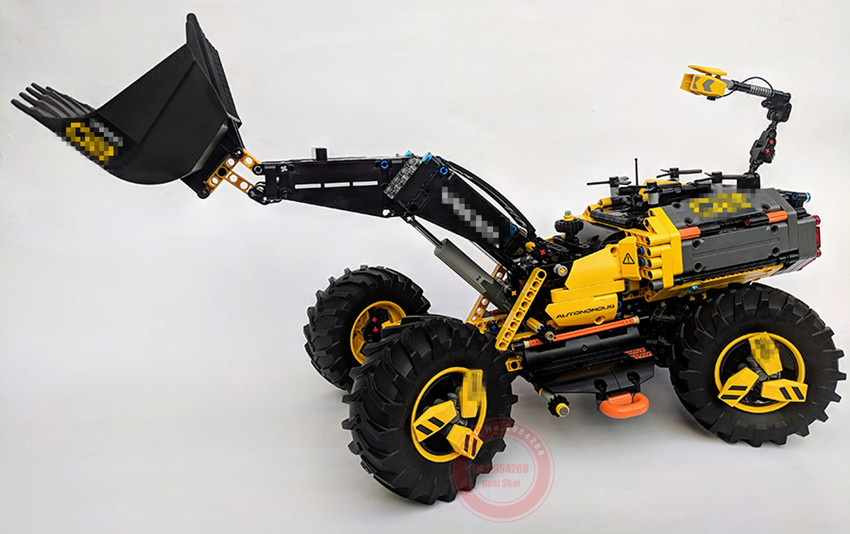 New Technic VO Concept Wheel Loader ZEUX fit legoings 42081 technic city truck Model Building Blocks Bricks Toys diy gift set