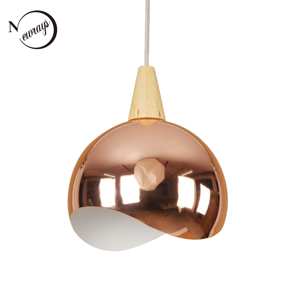 Modern creative iron wood pendant light LED E27 simple loft hanging lamp for living room lobby kitchen lounge office shop cafe nordic wrought iron simple modern pendant lamp with led bulb dinning room light cafe lamp e27 110v 220v free shipping