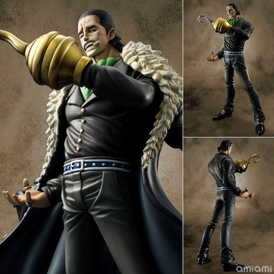 New 24 Anime One Piece Hot Portrait Of Pirates Mr.0 Sir Crocodile 9.5 PVC Figure Movie Model Doll Toy Best Gift Cosplay4 anime one piece arrogance sir crocodile model garage kit pvc action figure classic collection toy doll