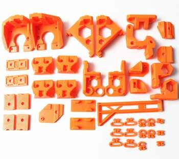 1 セット品質 Reprap Prusa i3 MK3 クマアップグレード印刷された部分 PLA オレンジ色 - DISCOUNT ITEM  5% OFF パソコン & オフィス