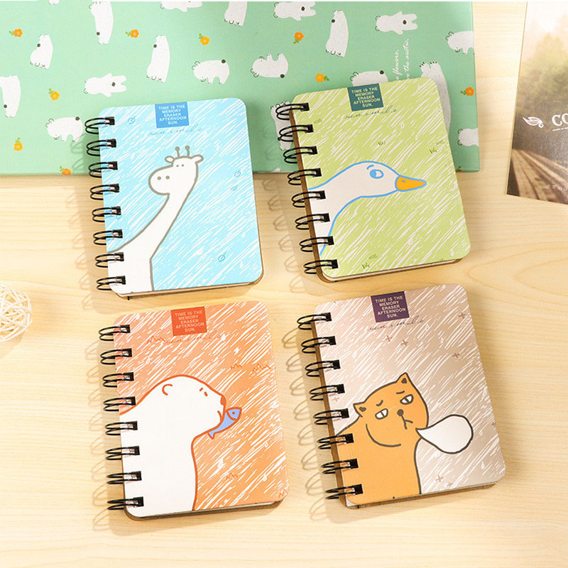 Student Rollover Coil Notebook Notebook Portable NotepadStudent Rollover Coil Notebook Notebook Portable Notepad