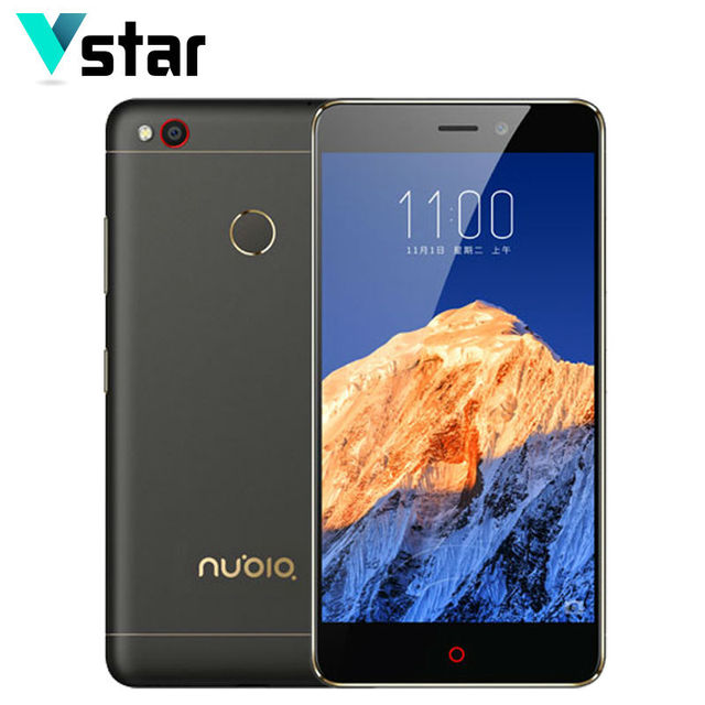 Original nubia n1 3 gb ram 64 gb rom 13.0mp 5.5 pulgadas cámara Helio P10 Octa Core de Doble Tarjeta SIM Smartphone MTK 2016 de Huellas Digitales