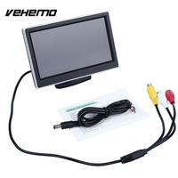 Vehemo 5 Inch LCD Screen Display Car VCR Player Rearview Cameras Reverse Monitor