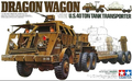 TAMIYA MODEL 35230 U.S. 40 ton tank transporter dragon wagon
