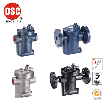 Taiwan DSC cast iron inverted bucket air traps NO.981A~686FA series 980、990A、680A、780A、680FA