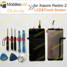 Nueva pantalla lcd de alta calidad de la pantalla para xiaomi redmi 2 + pantalla táctil de reemplazo de pantalla para xiaomi red rice 2/hongmi 2