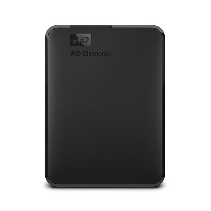 Western Digital WD Elements disco duro externo portátil USB 2,5 3,0 Disco Duro 500 GB 1 TB 2 TB 4 TB Original para PC portátil