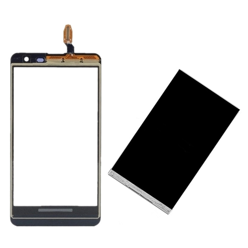 Black For Nokia Lumia 620 N620 Touch Screen Digitizer Sensor Glass + LCD Display Screen Panel Monitor Replacement