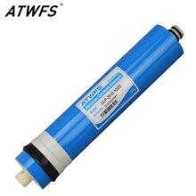 Atwfs 100 gpd мембраны ro очиститель воды осмоса мембраны обратного осмоса фильтр для воды картридж