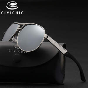 d9f2f934ae53c CIVICHIC Men Polarized Sunglasses Mirror Glasses Driving