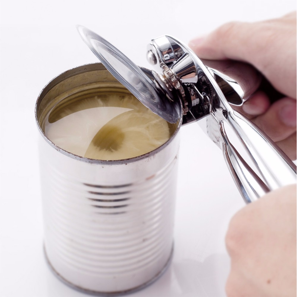 New Zinc Alloy Heavy Duty Can Opener For Canned Food With Ergonomic Shape 11