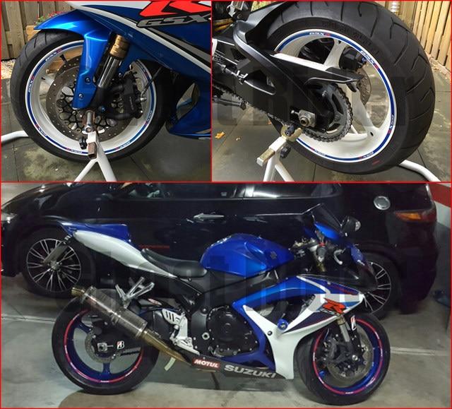 Online Shop BlueRedGoldWhite Color Motorcycle Wheel Rim Stripe - Vinyl stripes for motorcyclesred rim tape decals motorcyclewheel vinyl stickers stripes