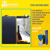 New MI4c LCD Touch Panel For Xiaomi Mi4c Mi 4c LCD Display Touch Screen Panel Digitizer