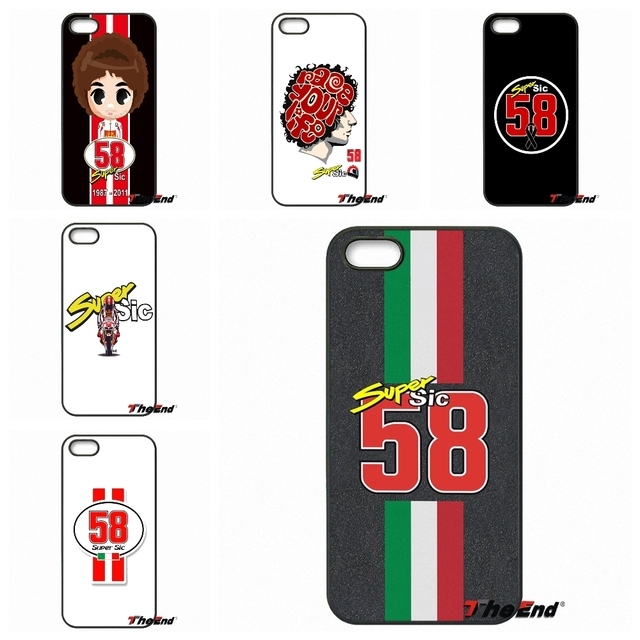 Marco Simoncelli logo fashion phone Case For iPhone X 4 4S 5 5C SE 6 ...