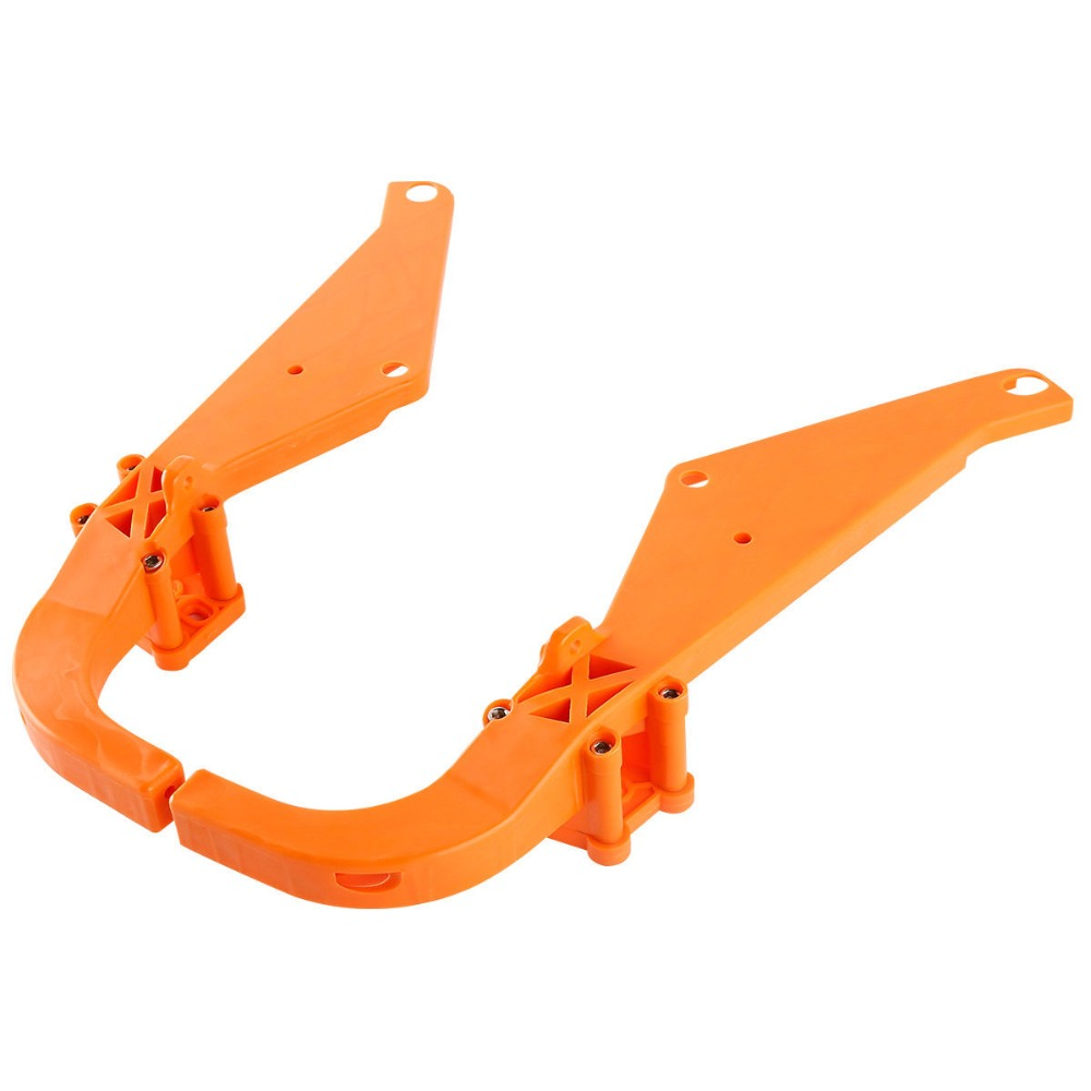 Motorcycle Strong Arm Batwing Inner Fairing Support Brackets For Harley Road Street Glide Dresser FLHX FLHX 1993 2013 12 in Covers Ornamental Mouldings from Automobiles Motorcycles