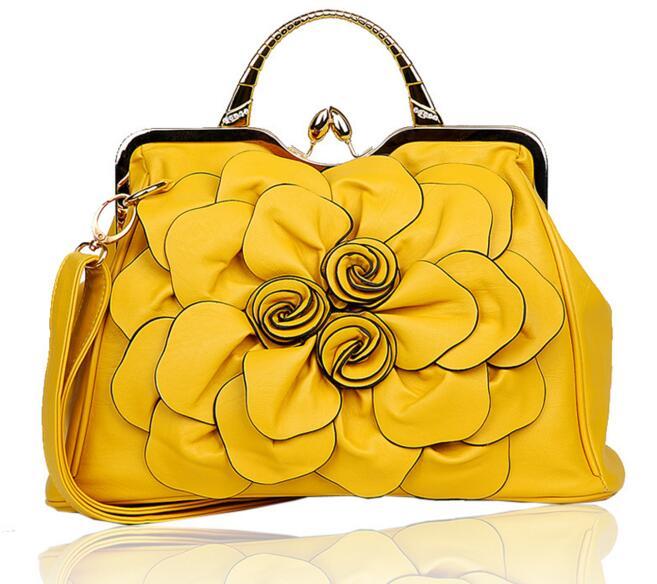 Летающие птицы, модные женские сумки, известные бренды, роскошные женские сумки через плечо, дамская сумка-тоут, Новое поступление, сумка LS4996fb - Цвет: yellow women tote