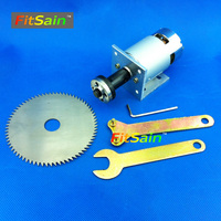 FitSain 775 Motor DC24V 7000RPM Center Hole 16mm Or 20mm Circular Saw Blade For Wood Cutting