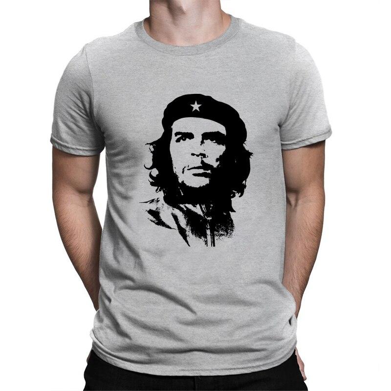 BLWHSA Che Guevara T font b Shirt b font Men Cuba People Hero Guevara Casual Printing