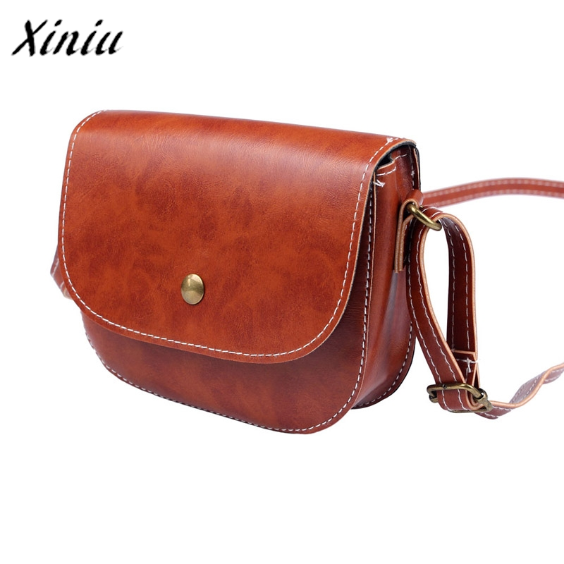 Women Messenger Bags Simple Color Retro Chain Shoulder Bag Leather Crossbody New Casual Shoulder Bag fashion brands handbag-in Top-Handle Bags from Luggage & Bags on Aliexpress.com   Alibaba Group