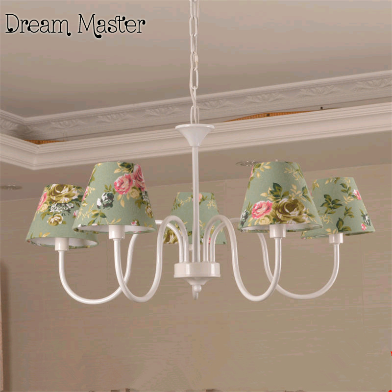 Mediterranean Garden chandelier children's room blue style country living room bedroom dining room lamp free shipping