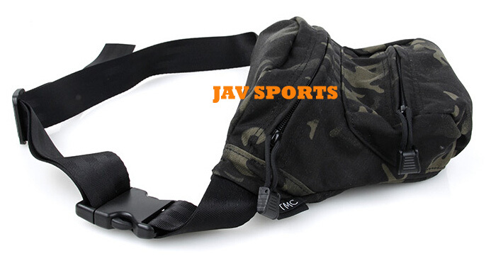 TMC Low Pitched Waist Pack hunting Waist Bag Genuine USA made 500D Multicam Black Free shipping