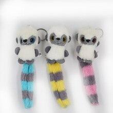 2b30768beb9 Loris lento Animal muñecas 7 CM de peluche juguetes de peluche bebé de  algodón PP de alta calidad de los niños colgante juguetes.
