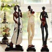 Аннотация Европейский Рисунок Скульптура Music Band украшение гостиной мебель домашнего интерьера современный декор