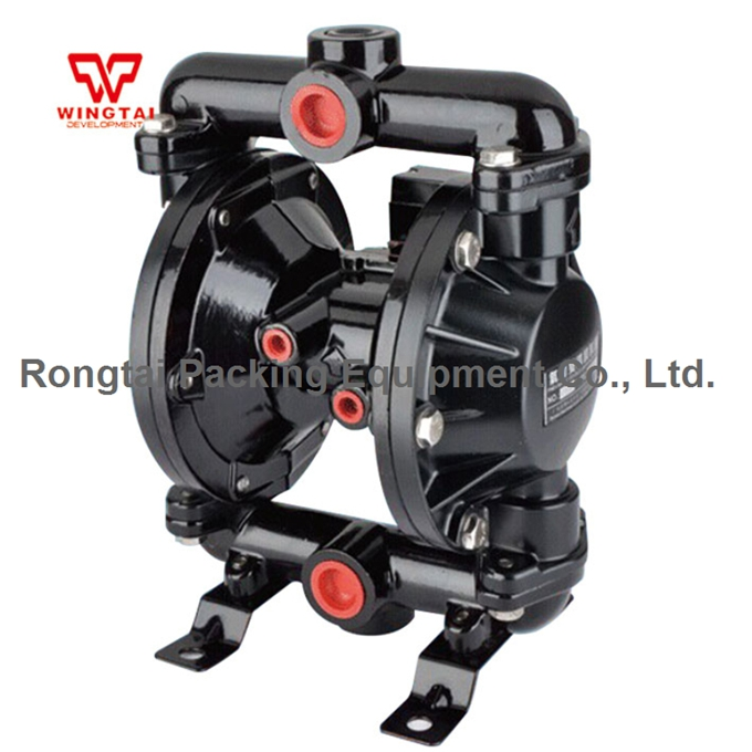 3/4 BML-20 Corrosion Resistant Double Way Pneumatic Diaphragm Pump For Circulate Ink & Glue 54 L/min qby 15 corrosion resistant double way pneumatic diaphragm pump 0 1m3 h