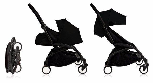 Детская коляска YOYA 2 в 1 + новорожденный nb nest baby trolley pack sette Yoya коляска bebek arabasi BabyZen YoYo детская коляска