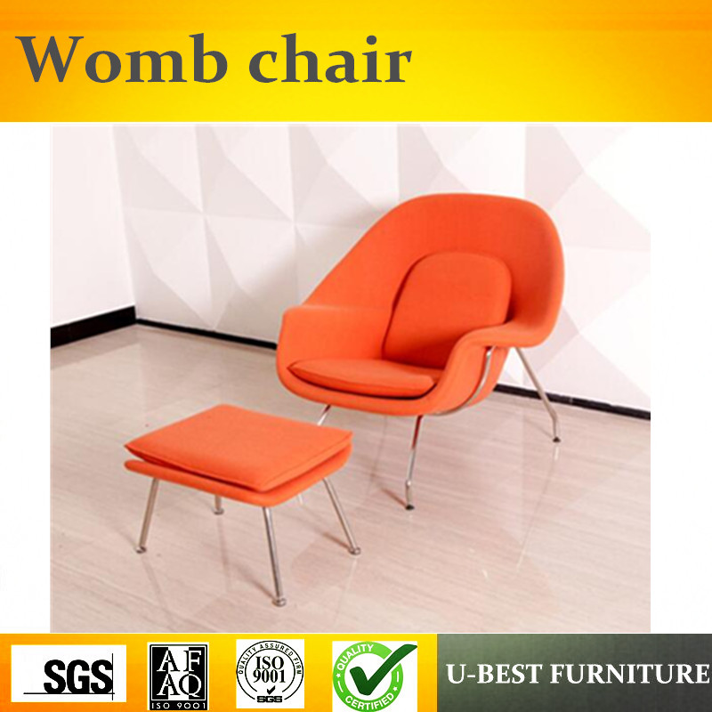 U BEST Modern Living Room Womb Armchair Stainless Steel Fiberglass Womb  Chair Replica In Chaise Lounge From Furniture On Aliexpress.com | Alibaba  Group
