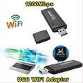 Unidade flash usb receptor adaptador usb wifi 1200 mbps comfast cf-912ac 11ac dupla freqüência da placa de rede usb3.0 rtl8192au chipset