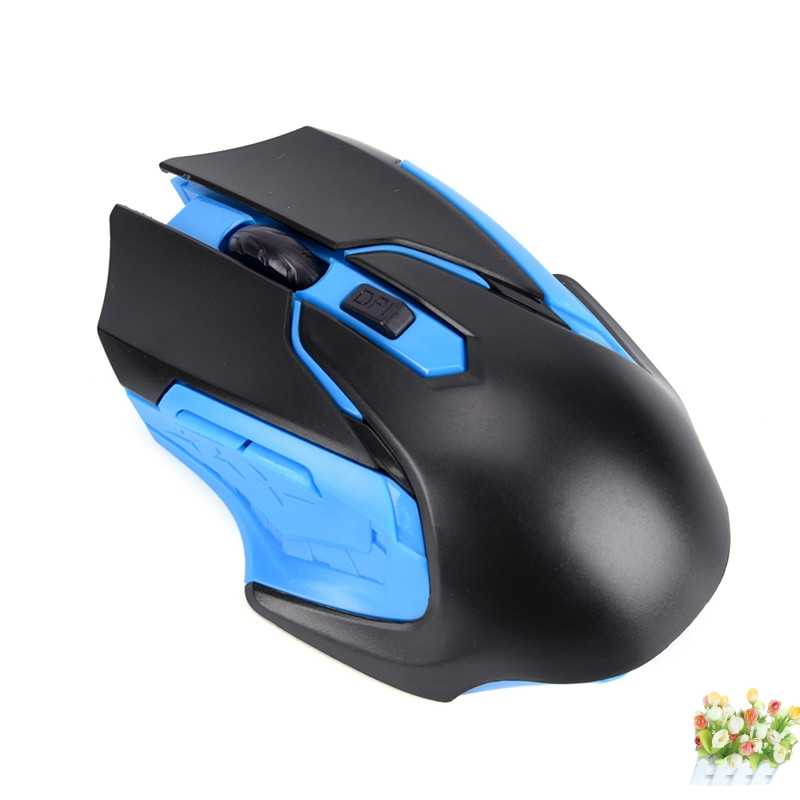 new Practical 2.4GHz USB Optical Wireless Gaming Mouse Gamer Mice For PC Laptop Computer 3200DPI Professional 6 Keys