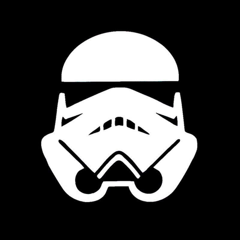 Star Wars Storm Trooper E Vinyl Sticker Car Bike Truck Window Wall Art Decal