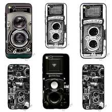 Colorful Vintage Camera Phone Cover for Xiaomi A2 Lite Mi Case A1 6 8 F1 Backshell