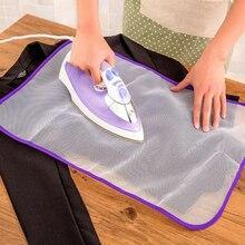 Тепла случайный цвет защитная ткань доска коврик Гладильные принадлежности изоляционная ткань устойчивая глажка Мода