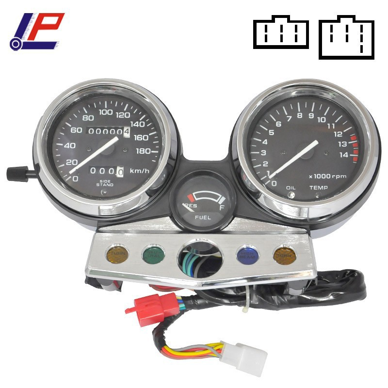For CB400 1995 1996 1997 1998 CB 400 95 96 97 98 Motorcycle Gauges Cluster Speedometer Tachometer Odometer Instrument Assembly