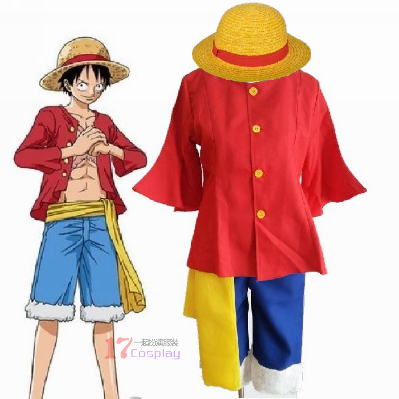 0f4d228a7af8 Hot Anime One Piece Costumes Adults Monkey D Luffy Cosplay Costume Sets  Costumes For Unisex-in Anime Costumes from Novelty   Special Use on  Aliexpress.com ...